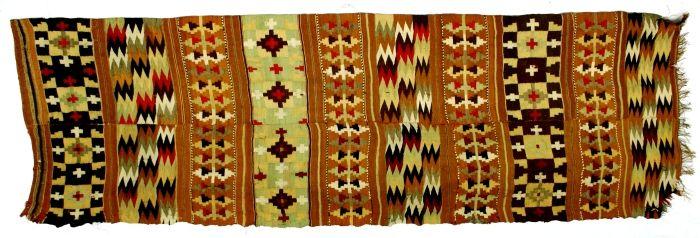 Covor; Scoarţă - Muzeul Naţional al Ţăranului Român - BUCUREŞTI (Patrimoniul Cultural National Mobil din Romania. Ordin de clasare: 2159/08.04.2010 - Fond)