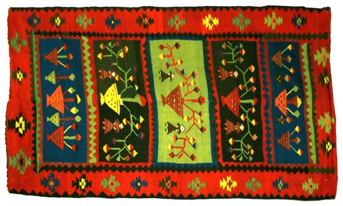 Covor; Scoarţă - Muzeul Naţional al Ţăranului Român - BUCUREŞTI (Patrimoniul Cultural National Mobil din Romania. Ordin de clasare: 2159/08.04.2010 - Tezaur)