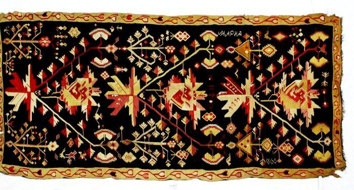Covor - Muzeul Naţional al Ţăranului Român - BUCUREŞTI (Patrimoniul Cultural National Mobil din Romania. Ordin de clasare: 2159/08.04.2010 - Tezaur)