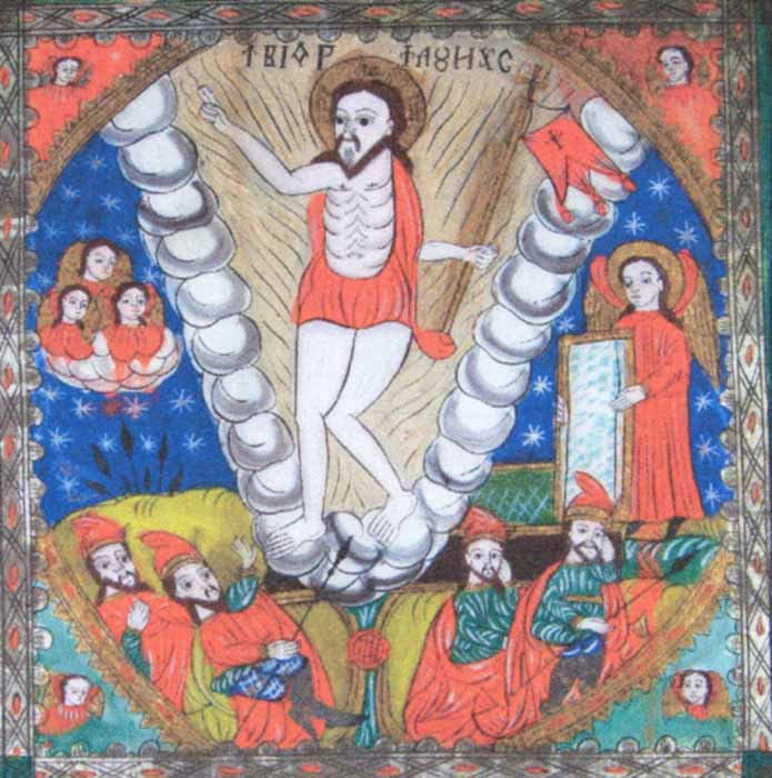 Icoană - Moga, Savu; Învierea lui Iisus Hristos - Academia Română - BUCUREŞTI (Patrimoniul Cultural National Mobil din Romania. Ordin de clasare: 2428/18.10.2006 - Tezaur)