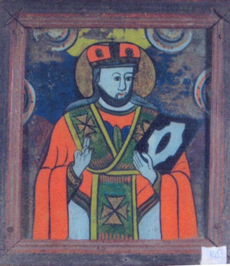 Icoană; Sfântul Ierarh Nicolae - Academia Română - BUCUREŞTI (Patrimoniul Cultural National Mobil din Romania. Ordin de clasare: 2428/18.10.2006 - Tezaur)