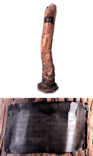 Trunchi de copac de pe frontul italian. Primul război mondial - Muzeul Banatului - TIMIŞOARA (Patrimoniul Cultural National Mobil din Romania. Ordin de clasare: 2134/09.03.2015 - Fond)