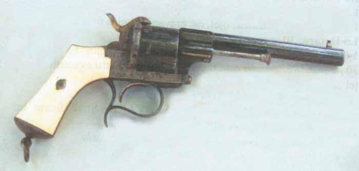 Revolverul domnitorului A.I. Cuza - Muzeul Municipiului Bucureşti - BUCUREŞTI (Patrimoniul Cultural National Mobil din Romania. Ordin de clasare: 2239/08.06.2006 - Tezaur)