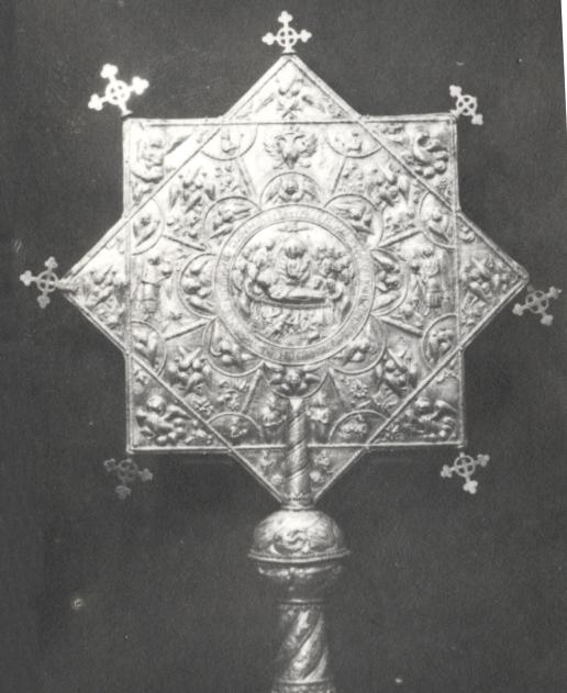 Ripidă - Muzeul Naţional de Istorie a României - BUCUREŞTI (Patrimoniul Cultural National Mobil din Romania. Ordin de clasare: 2694/28.10.2014 - Tezaur)