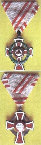 Ordin; Meritul Sanitar al Crucii Roşii austro-ungare - Muzeul Naţional de Istorie a României - BUCUREŞTI (Patrimoniul Cultural National Mobil din Romania. Ordin de clasare: 2617/05.11.2012 - Fond)