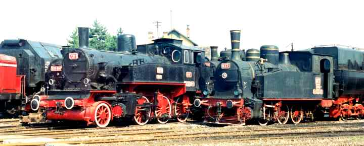 """locomotivă cu aburi - Compania Naţională de Căi Ferate """"C.F.R."""" S.A. - BUCUREŞTI (Patrimoniul Cultural National Mobil din Romania. Ordin de clasare: 2686/31.07.2000 - Tezaur)"""